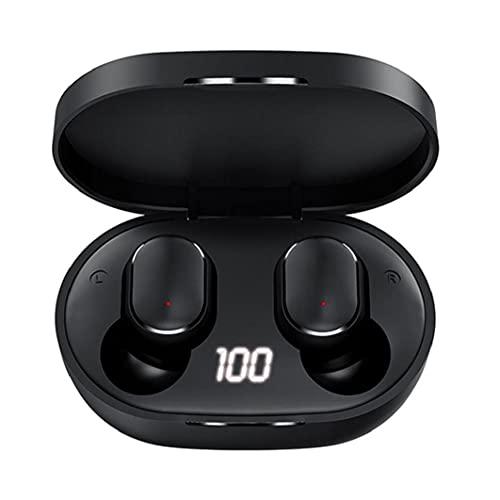 Auricular inalámbrico Bluetooth 5.1 para auriculares de alta fidelidad M3 de visualización de cancelación de ruido LED electrónica de Deportes Gaming Headsets
