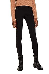 ESPRIT Damen 119EE1B035 Hose, Schwarz (Black 001), W/L30(Herstellergröße: 36/30)