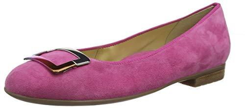 ARA Damen Sardinia 1231332 Geschlossene Ballerinas, Rot (Pink 07), 37.5 EU