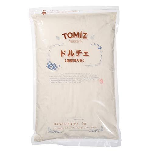 ドルチェ(江別製粉) / 3kg 【創業100年 富澤商店】TOMIZ/cuoca 小麦粉 国産 薄力粉