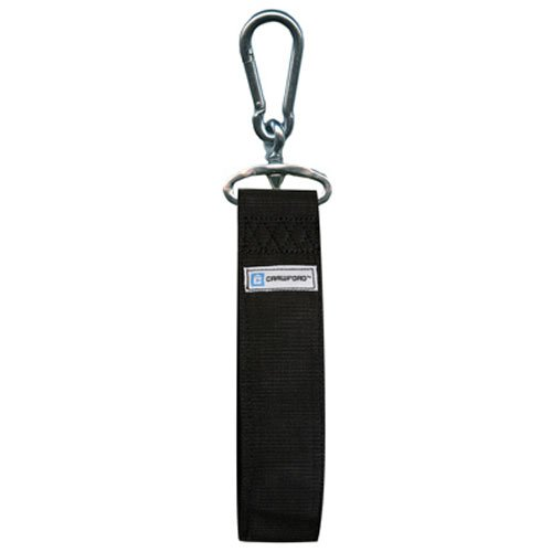 """36"""", Black, Storage Strap, Handles 200 LB Safe Working Load, Heavy Duty Zinc Plated Spring Link Attaches Easily, Great For Storing Power Tools, Sporting Goods, Lumber, Conduit & More."""