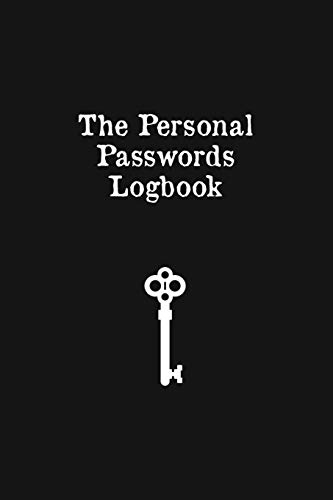The Personal Password Logbook: Web Address And Password Logbook - Phone And Computer Email Login Pocket Book Journal