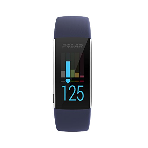 Polar A370 Fitness Tracker, deep blue, M/L