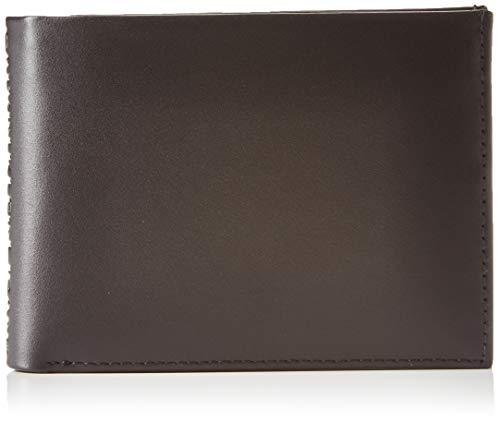 Calvin Klein Herren Logo Pop Billfold W/Coin Schultertasche, Schwarz (Infinite Black), 1x1x1 cm