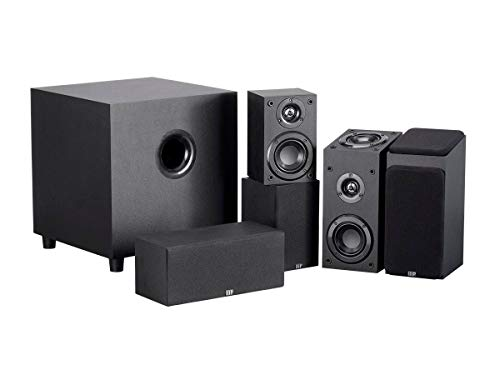 Monoprice 133831 Premium 5.1.2-Ch. Immersive Home Theater System - Black with 8 Inch 200 Watt Subwoofer