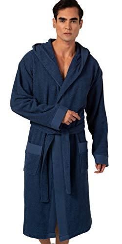 albornoz capucha algodon de la marca Brandless Concepts