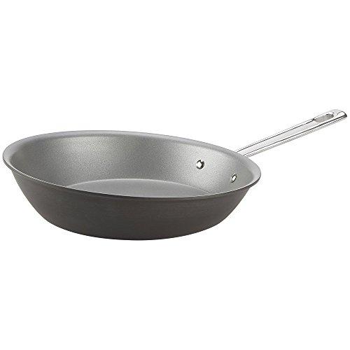 "Emeril Lagasse Nonstick Perfect Sauté Pan, 11.5"", Dishwasher Safe, Hard Anodized, Gray"