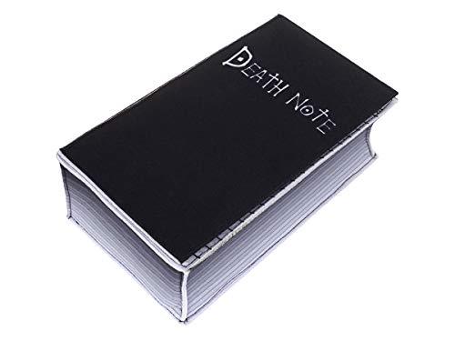 CoolChange Caja de pañuelos de Death Note, dispensador de pañuelos en Forma de Cuaderno de la Muerte