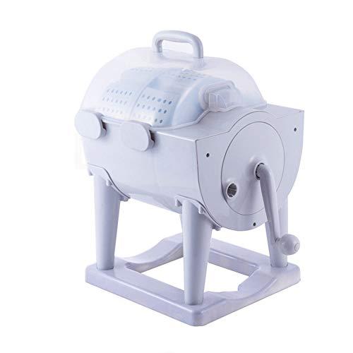 HOUSEHOLD Lavadora de Tambor Manual No Eléctrica Portátil, Deshidratación Manual de La...