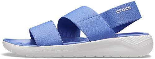 scarpe in blu donna Crocs LiteRide Stretch Sandal W