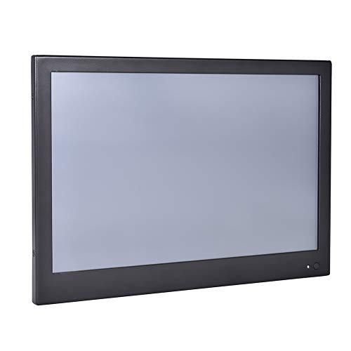 13.3 Inch Industrial Touch Panel PC,All in One Computer,4 Wire Resistive Touch Screen,Windows 7/10,Linux,Intel Core I5 3317U,(Black),[HUNSN WD10],[2RS232/VGA/HDMI/LAN/4USB2],(240G SSD/1TB HDD)