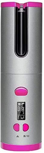 Yeelight Rizador Automático Inalámbrico, Restricción Inalámbrica sin cables con batería recargable incorporada, Rizador de pelo de cerámica con carga USB y portátil recargable para viajes
