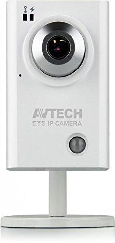 AVTech HD-IP-Kamera mit menschlichem Detektor und Mikrofon, leicht