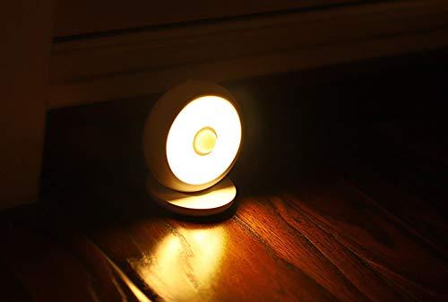 Nachtlampje voor kinderen Touch Controlnight Licht Opladen Menselijk Lichaam Inductie Nachtlampje Slaapkamer Bedzijde Baby Voeding Lamp Van Nachtkleding Keukenkast Corridor Kan worden opgehangen Kan Magnetisch Klein Licht Slaap