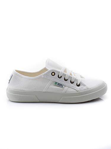 901 Basquet Tintado blanco Größe: EU39 Farbe: blanco