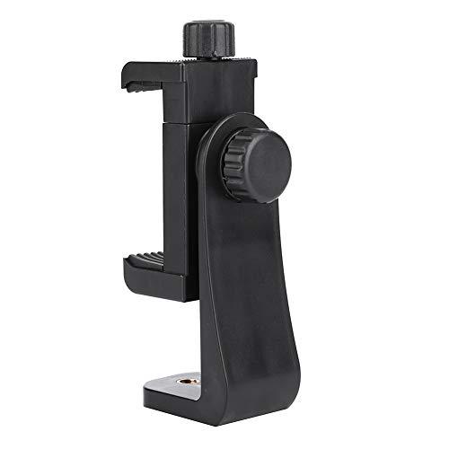 DAUERHAFT Rotación Universal de 360 ° Compatible para el Ancho del teléfono es de 5.5-8.5cm Clip para teléfono Soporte para trípode Material ABS, para, para Samsung