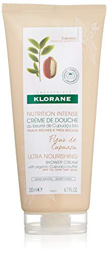 Klorane Corps Nutrition Intense Crème Douche Fleur de Cupuaçu Gel Trockene/Sehr Trockene Haut 200ml