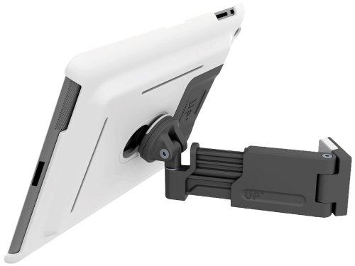3in1 Set - Wandhalterung & Standfuß für iPad2, iPad3 (New iPad) & iPad4 (iPad Retina) - mit Teleskoparm - inkl. Schutzhülle, Farbe: weiß - XFLAT-UP410