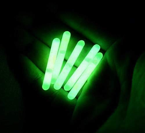 Blackett Mini Compact Emergency Glow Light Sticks, 1.5 inch, 100 Pack (100)