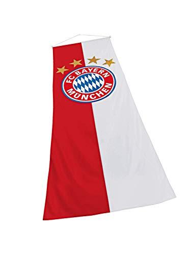 FC Bayern München Bannerfahne Logo 120 x 300 cm