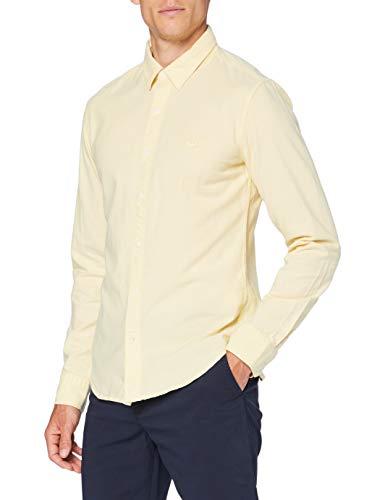 Levi's LS Battery Hm Shirt Slim, Dusky Citron, X-Large para Hombre