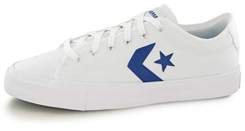 Converse Star Replay - Ox - Blanco/Rush Azul/Blanco Lona, color, talla 42 EU