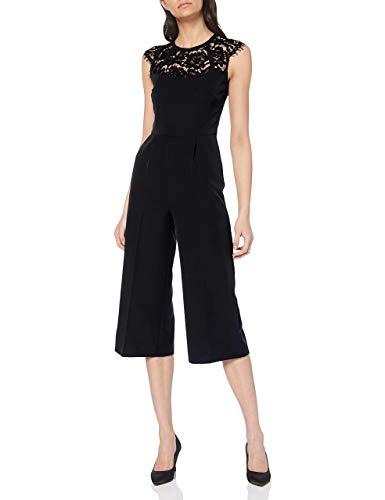 comma Damen 8E.995.85.3752 Jumpsuit, Schwarz (Black 9999), (Herstellergröße: 42)