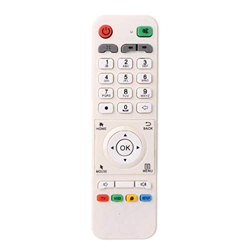 Jilin White Remote Control Controller Replacement for LOOL Loolbox IPTV Box Great BEE IPTV and Model 5 OR 6 Arabic Box Accessories Light