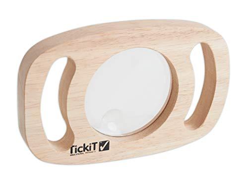 TickiT 73363 Lupa de fácil sujeción, 3 aumentos