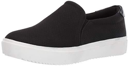 Dr. Scholl's Shoes Women's Wink Sneaker, black ventura snake print, 9 M US