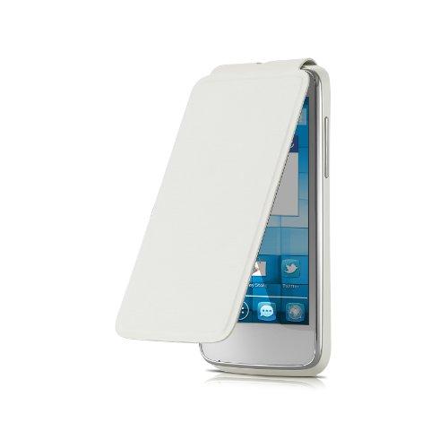 Alcatel FC5020Flip Cover für One Touch, Pure weiß