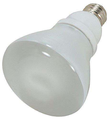 Satco 15R30/50 Compact Fluorescent Reflector, 15W E26 R30, Bulb [Pack of 6]