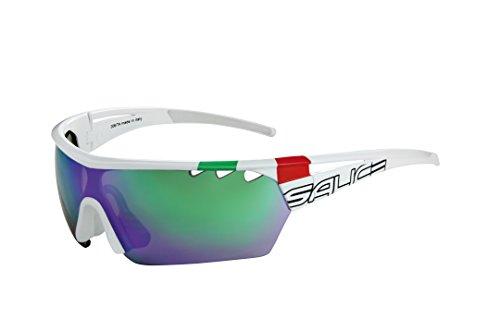 Salice 006ITA RW - Gafas de Ciclismo, Color Blanco, Talla única