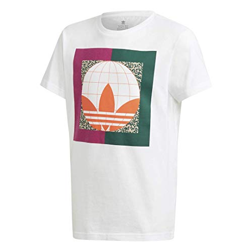 adidas Originals Camiseta unisex para jóvenes - blanco - X-Large