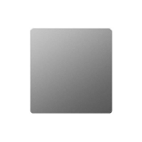 Foicags Interruptor retro gris Matte Tecla de la llave Interruptor Pequeño Piso Gran Panel Interruptor Consumidor y comercial Luz de luz de pared Abra y cierre Interruptor de llave de cierre simple o