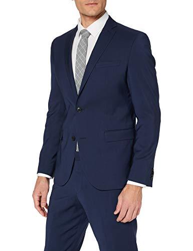 s.Oliver BLACK LABEL Herren 160.14.004.21.210.2051691 Anzug, Blau (Blue 5876), 56