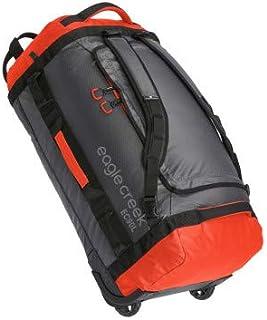 Eagle Creek - Cargo Hauler 90L Foldable Rolling Duffle Bag - Flame/Asphalt