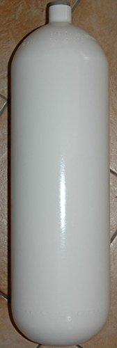 HTD Stahlflasche/Tauchflasche 15 Liter 300 bar 204mm ohne Anbauteile