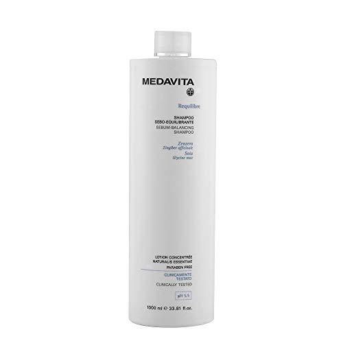 medavita requilibre shampoo sebo equilibrante 1000 ml ph 5.5 allo zenzero sebum balancing with ginger