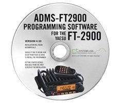 RT Systems Yaesu ADMS-2900 Programming Software on CD with USB Computer Interface Cable for FT-2900R