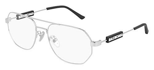 Occhiali da vista Balenciaga BB0117O Silver 57/18/145 unisex