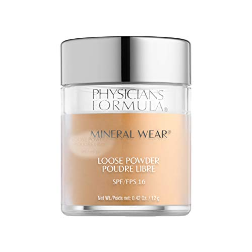 Physicians Formula Spf 16 Mineral Wear Loose Powder, Medium Beige, 0.42 Ounce