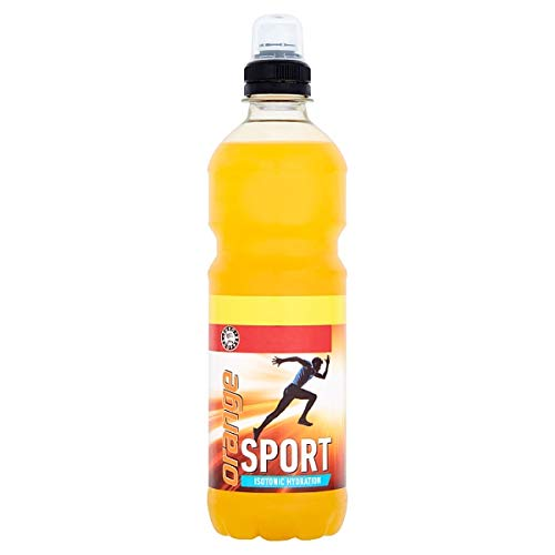 Euro Shopper Sport Isotonic Hydration Orange 500ml - Case of 12