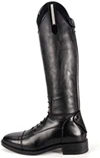 Brogini Kids/Childrens Como Piccino Patent Leather Top Riding Boot