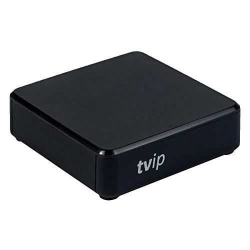 TVIP/HMP S-Box v.412 IPTV/OTT Media Player WLAN schwarz