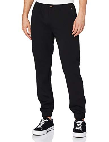 Urban Classics Herren Basic Track Pants Hose, Black, XL