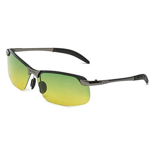 CYPZ Gafas de sol para hombre Gafas de sol polarizadas Espejo de conductor clásico Espejo de conducción Sombreado para montar al aire libre femenino
