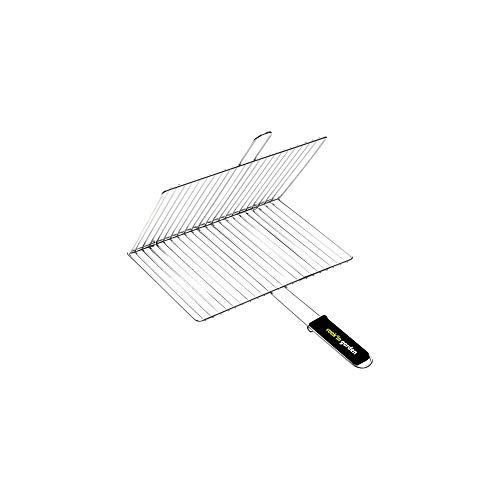 Cook'in Garden Gr025 - Griglia rettangolare doppia, 40 x 30 cm
