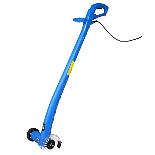 Grout Groovy Electric Stand Up Tile Grout Cleaner, Lightweight Machine Safely Cleans Grout Between Floor Tiles, Includes Brush Wheel, 20' Cord, 120 V