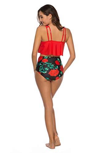 NUUR Bikini de Punto Trajes de baño para Mujer Push up Playa de Verano Bañador Mujer 2019 Bikini